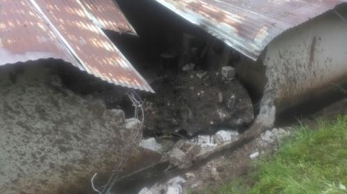 Dos viviendas soterradas y una persona fallecida tras deslizamiento