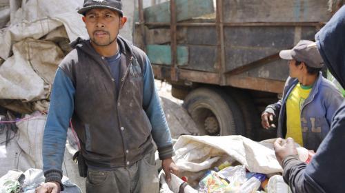 Vivir en el basurero
