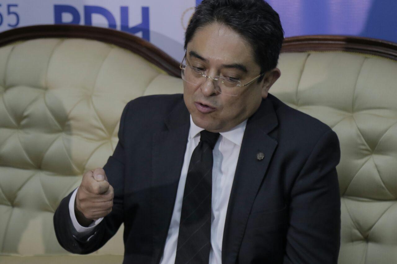 La respuesta del PDH, Jordán Rodas, al mensaje de Jimmy Morales