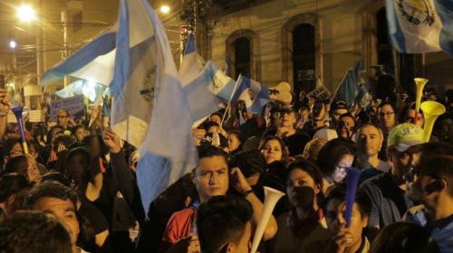 Guardias armados de algunos diputados estaban infiltrados en protestas