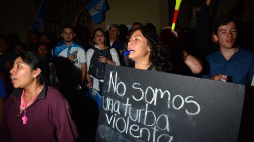 CC garantiza el derecho de la manifestación y de la libre expresión