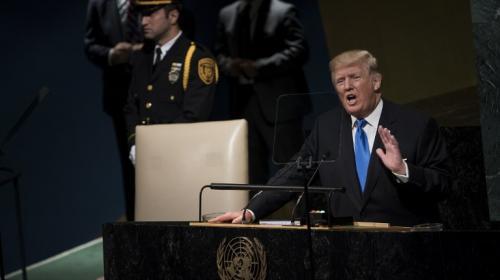 """Trump promete """"destruir totalmente"""" a Corea del Norte"""