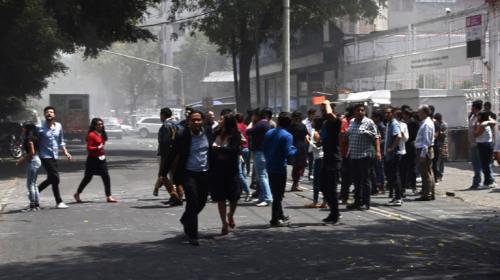 Las impresionantes imágenes del nuevo sismo en México