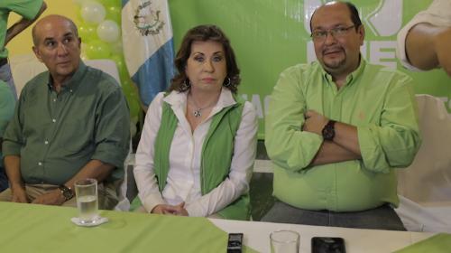 Se dieron carita...y la carita fue la de Sandra Torres