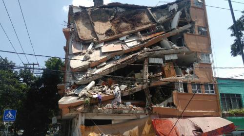 Videos impresionantes muestran la magnitud del terremoto en México
