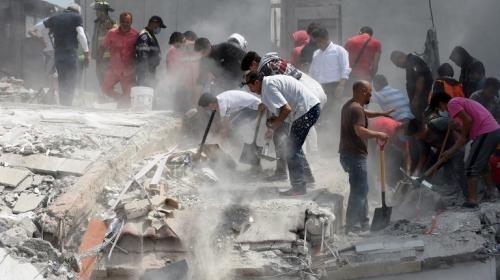 Fuerte explosión tras terremoto de 7.1 grados que sacudió México