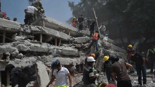 Aún hay esperanza: en México encuentran sobrevivientes del terremoto