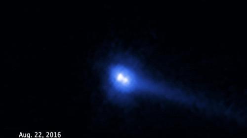 Astrónomos descubren asteroide binario, un objeto espacial único