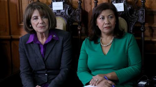 Norma Torres insta a Jimmy a que trabaje con MP y CICIG