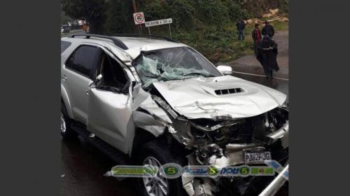 Muere el diputado Joel Bámaca tras accidente de tránsito en Sololá
