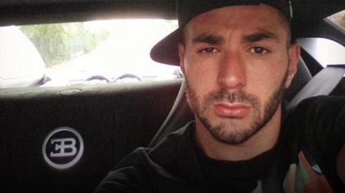 Karim Benzema vuelve a tener un percance automovilístico en España