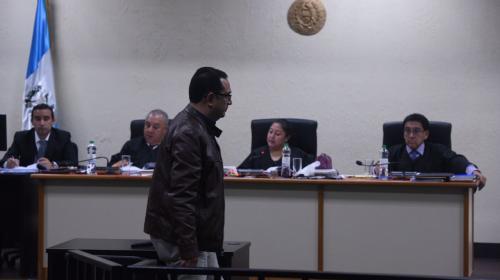 Samuel Morales señala al MP y CICIG de limitar su derecho de trabajo