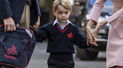 Así es el excéntrico almuerzo escolar del príncipe George