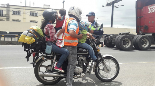 Esta es la multa que deberá pagar este motociclista en Villa Nueva
