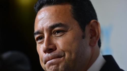 Esta es la razón del otro antejuicio contra Jimmy Morales