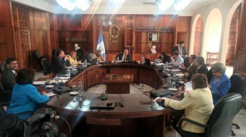 Segundo intento por elegir presidente del OJ concluye sin propuestas