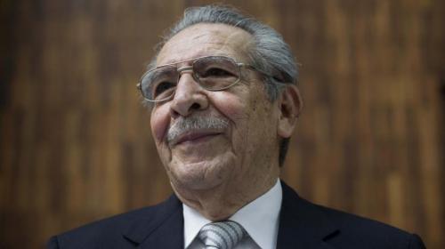 Murió José Efraín Ríos Montt