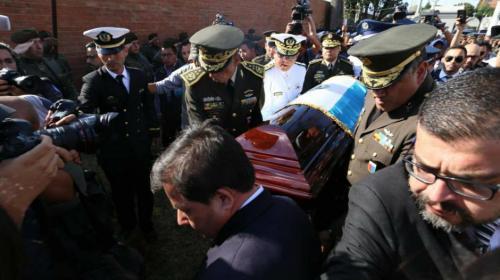 El entierro exprés de Ríos Montt y la propaganda anticipada de Zury