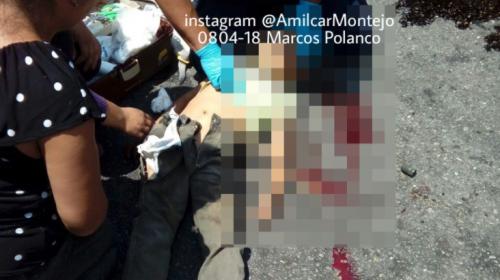 Reaniman a un niño tras accidente en moto en la zona 13