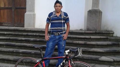 Él era Prudencio Sabán, el ciclista que murió este domingo