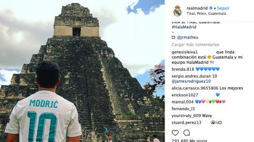 El Real Madrid se enamora de Guatemala con esta fotografía