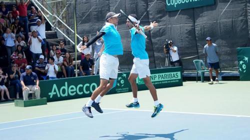 Tenis: equipo nacional de Copa Davis salva descenso ante El Salvador