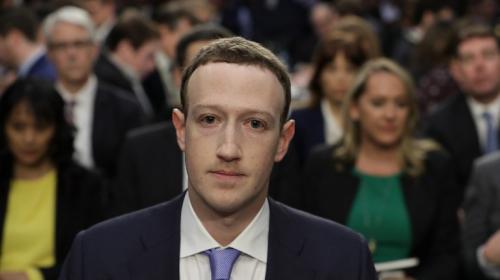 Así fue la audiencia de Zuckerberg en el Congreso de Estados Unidos