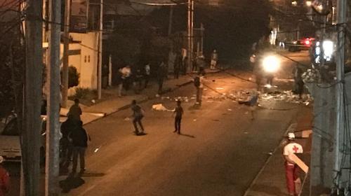 Disturbios en zona 15: menores de anexo de Hogar Seguro se amotinan