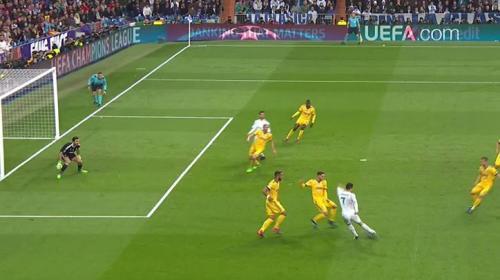 ¡Polémica! Árbitro anuló el gol de Isco por supuesto fuera de lugar