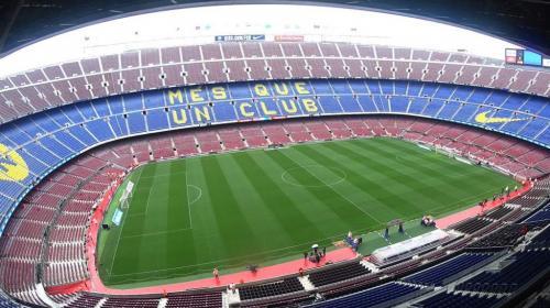 Peña del Barcelona Guatemala tiene su escudo en el Camp Nou