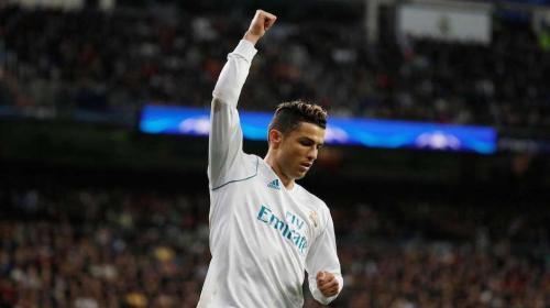 Cristiano Ronaldo descansa en la visita del Real Madrid a Málaga