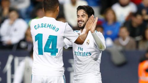 Sin Ronaldo, pero con un golazo de Isco, Real Madrid vence al Málaga
