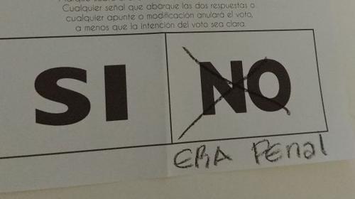"""Los votos nulos superan al """"No"""" en la Consulta Popular"""