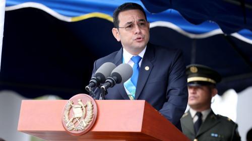 Las 8 frases del enfado de Jimmy Morales contra el MP y la CICIG