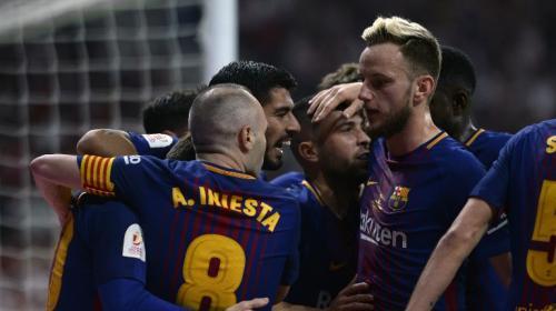 Golazo de Iniesta hace vibrar al Barcelona en la final de Copa