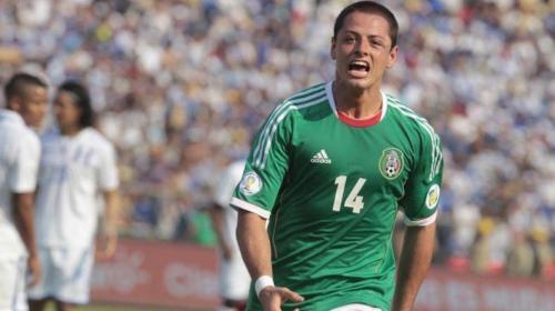 """""""Chicharito"""" Hernández: """"Me veo levantando la Copa del Mundo"""""""