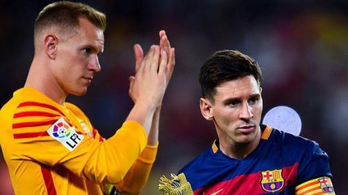 Triple humillación de Messi a Ter Stegen: gambeta, vaselina y chilena