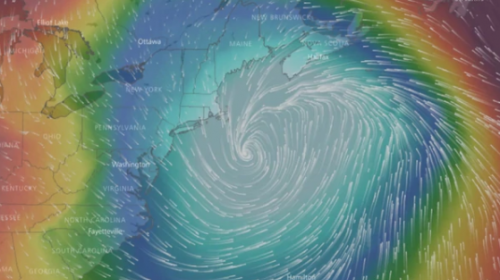 "Alertan sobre ""ciclón bomba"" que azotará a EE. UU. dentro de poco"