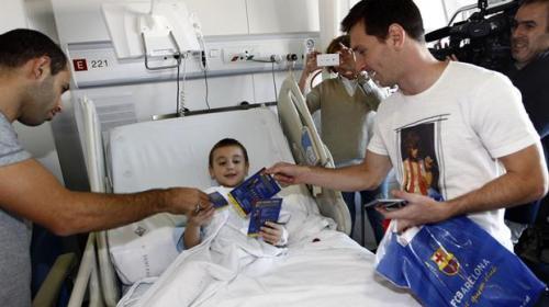 Messi alegrará a niños enfermos en el Día de Reyes con este detalle