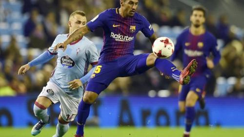 El FC Barcelona, plagado de bajas, empata frente al Celta