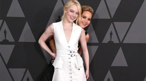 El extraño motivo por el que Emma Stone y Jennifer Lawrence son amigas