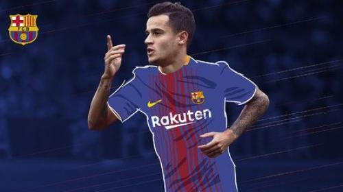 Oficial: Tardó pero llegó, Couthinho ya es del FC Barcelona