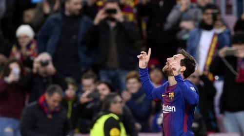 El FC Barcelona y Messi siguen intratables en la Liga