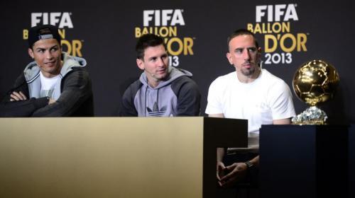 Ribery aseguró que le robaron el Balón de Oro y se lo dieron a CR7