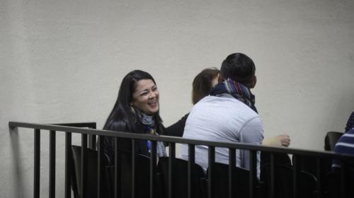 Samantha Mejía podría salir libre en unas horas tras pagar Q300 mil