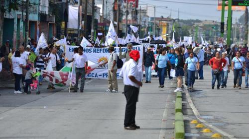 Codeca anuncia manifestación en todo el país para el lunes