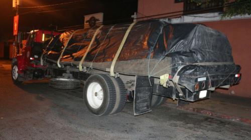Así arrestaron a ladrones que robaron camión y secuestraron al piloto