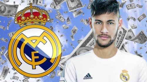 Esta es la astronómica oferta del Real Madrid para fichar a Neymar