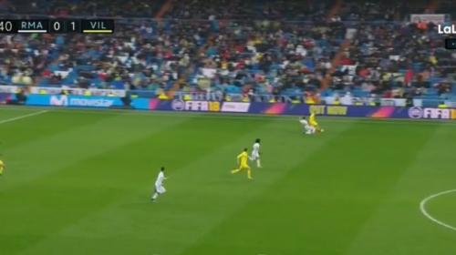 El gol del Villarreal nació en un tiro de esquina del Real Madrid