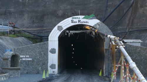 Minera San Rafael realiza despido masivo por suspensión de operaciones